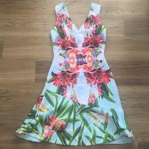 Karen Millen floral dress.